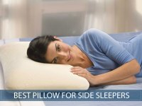 Best Pillow For Side Sleepers in 2018 - Our Reviews and ...