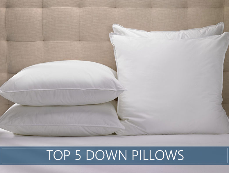 The 5 Highest Rated Down Pillows Available in 2018