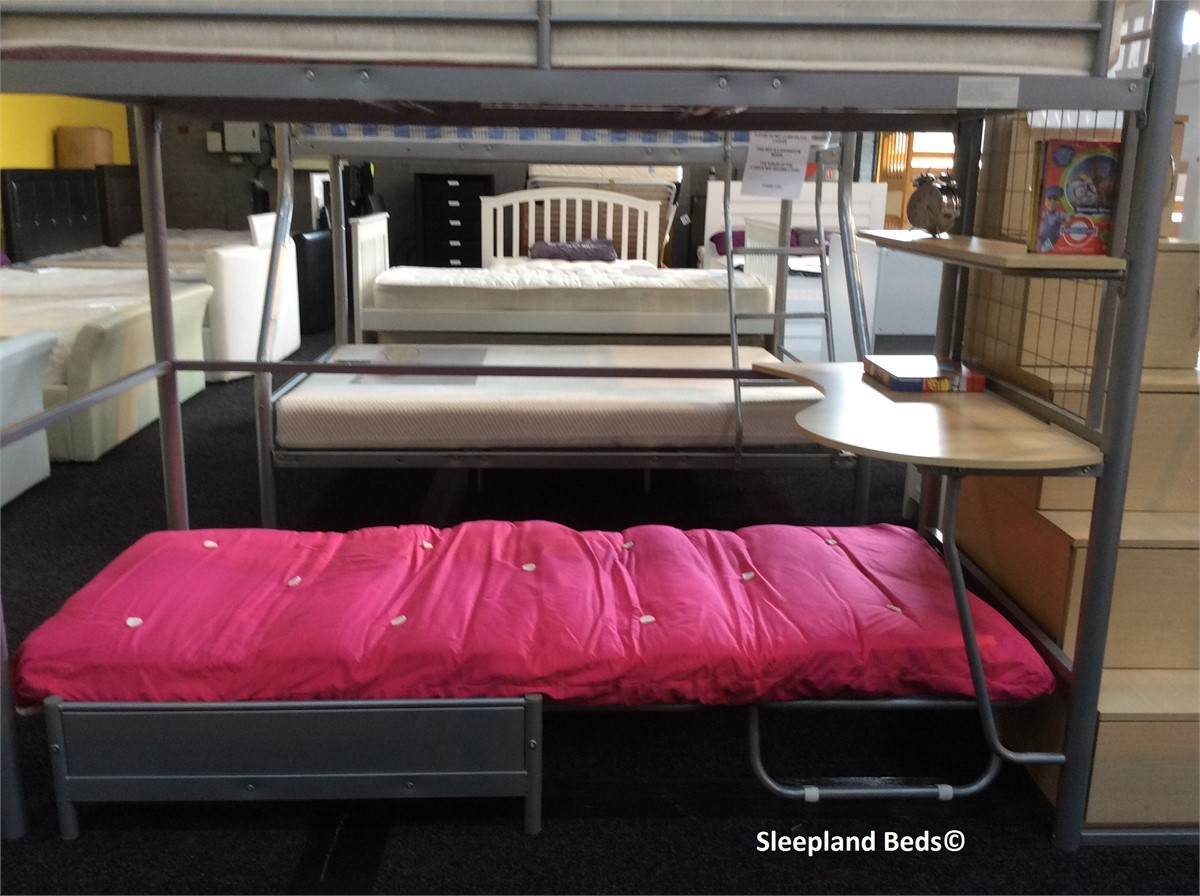 Sleeper Sofa Integrity High Sleeper Bed With Desk And