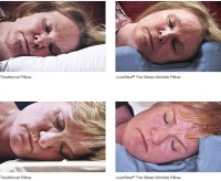 Juverest Sleep Anti Wrinkle Pillow with Cover