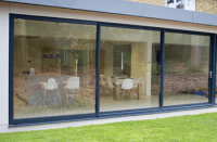 Large Three Pane Aluminium Sliding Patio Doors in Smarts ...