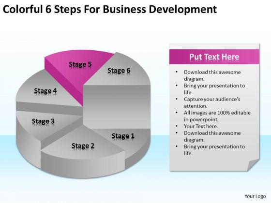 6 Steps For Business Development Ppt How Do Write A Plan PowerPoint