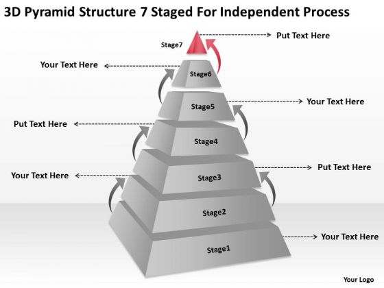 7 Staged For Independent Process Ppt Restaurant Business Plans