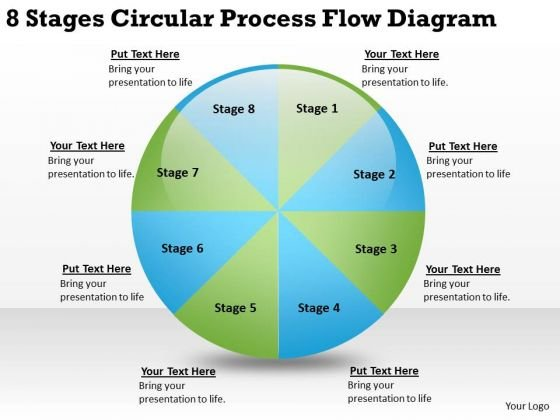 8 Stages Circular Process Flow Diagram What Is Business Continuity - business continuity plan