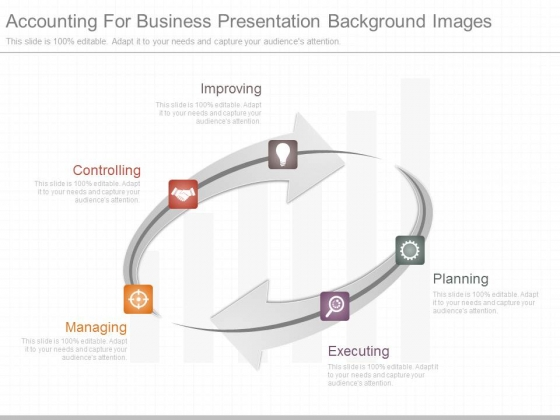 Accounting For Business Presentation Background Images - PowerPoint