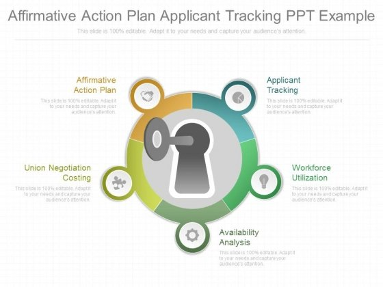 Affirmative Action Plan Applicant Tracking Ppt Example - PowerPoint - affirmative action plan
