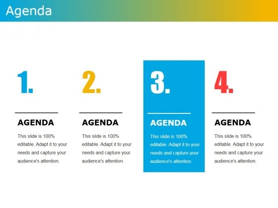 Agenda Template 1 Ppt PowerPoint Presentation File Show - PowerPoint