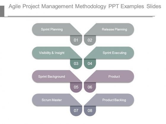 Agile Project Management Methodology Ppt Examples Slides