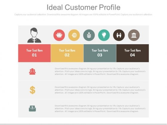 An Ideal Customer Profile Ppt Slides - PowerPoint Templates - customer profile