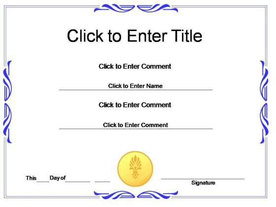 free certificate templates for powerpoint - 47 images - free - powerpoint certificate template