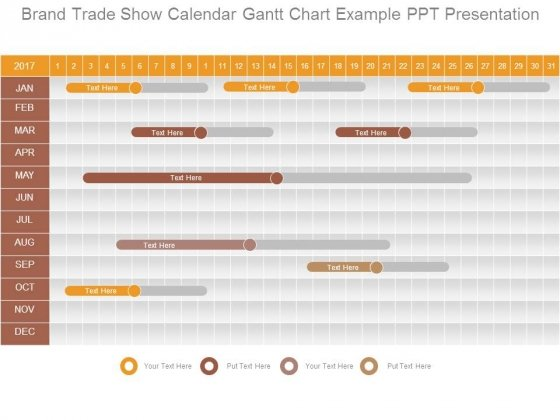 Trade PowerPoint templates, Slides and Graphics - sample power point calendar