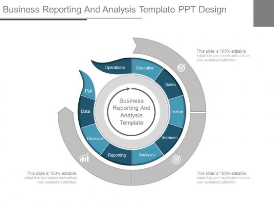 Business Reporting And Analysis Template Ppt Design - PowerPoint