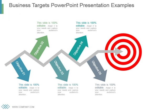Business Targets Powerpoint Presentation Examples - PowerPoint Templates