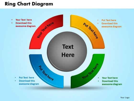 Business Circle Charts PowerPoint Templates Process Ring Chart Ppt