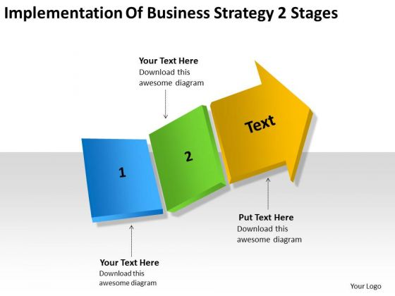 Business Development Strategy 2 Stages Examples Plan Outline