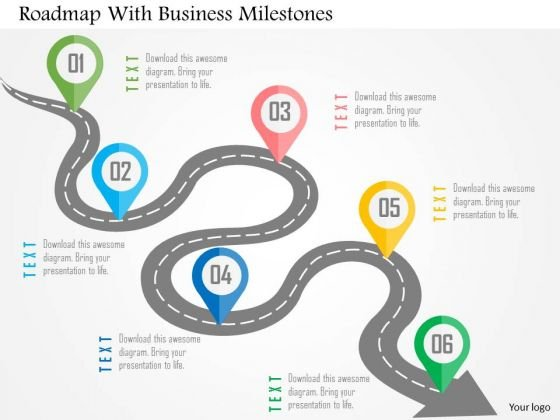 Time planning PowerPoint Templates - roadmap powerpoint template