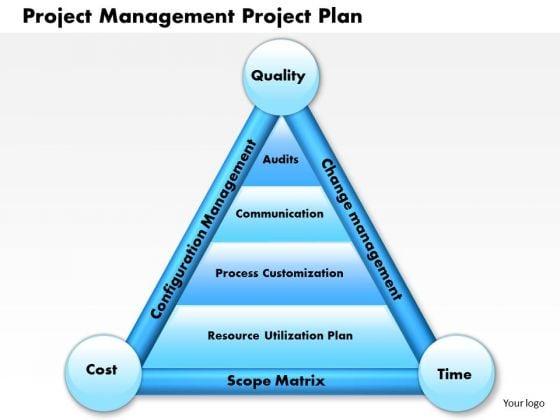 Business Framework Project Management Project Plan PowerPoint