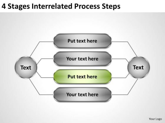 Business Logic Diagram Process Steps Ppt PowerPoint Templates