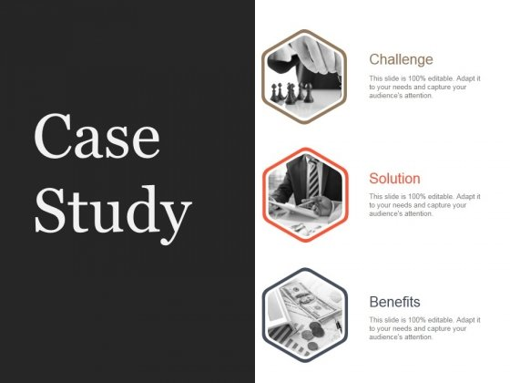 Case Study Template 1 Ppt PowerPoint Presentation Tips - PowerPoint