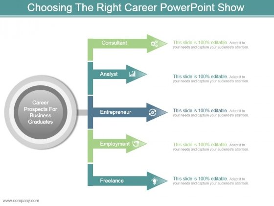 Choosing The Right Career Powerpoint Show - PowerPoint Templates