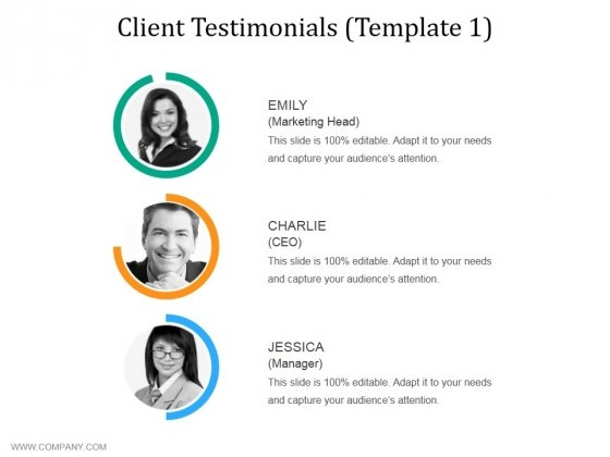 Client Testimonials Template 1 Ppt PowerPoint Presentationmodel