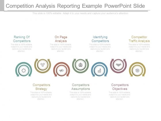 competitive analysis template powerpoint - Militarybralicious - competitive analysis example