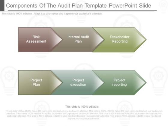 Components Of The Audit Plan Template Powerpoint Slide - audit plan template