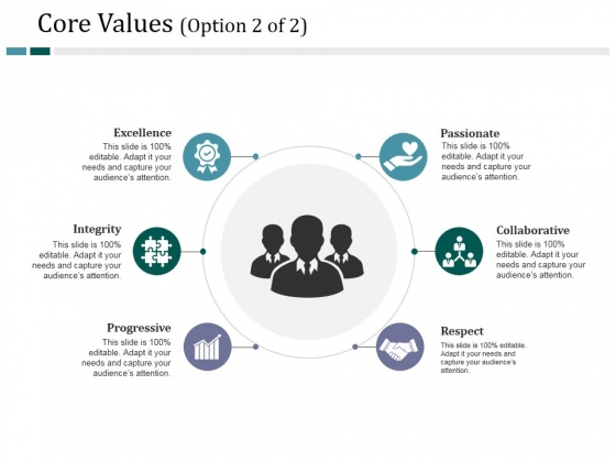 Core Values Template 2 Ppt PowerPoint Presentation Gallery Graphics