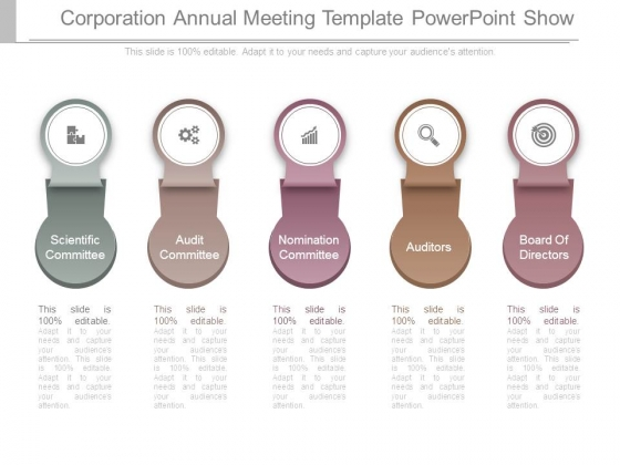Corporation Annual Meeting Template Powerpoint Show - PowerPoint