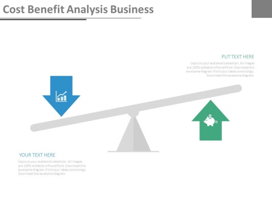 Cost Benefit Analysis Business Ppt Slides - PowerPoint Templates