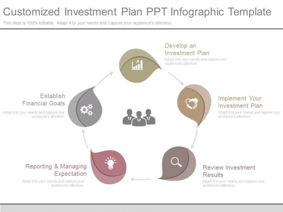 Customized Investment Plan Ppt Infographic Template - PowerPoint