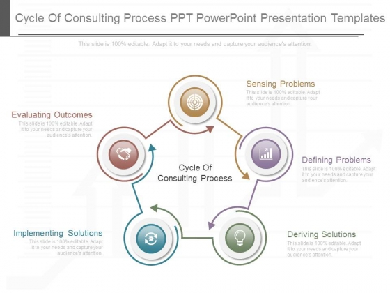 Cycle Of Consulting Process Ppt Powerpoint Presentation Templates - consulting presentation templates
