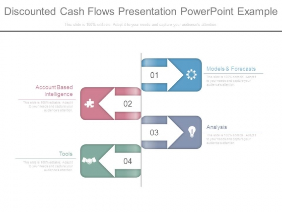 Discounted Cash Flows Presentation Powerpoint Example - PowerPoint