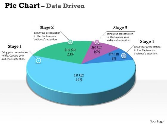 Data Analysis Excel 3d Pie Chart For Marketing Process PowerPoint - pie chart templates
