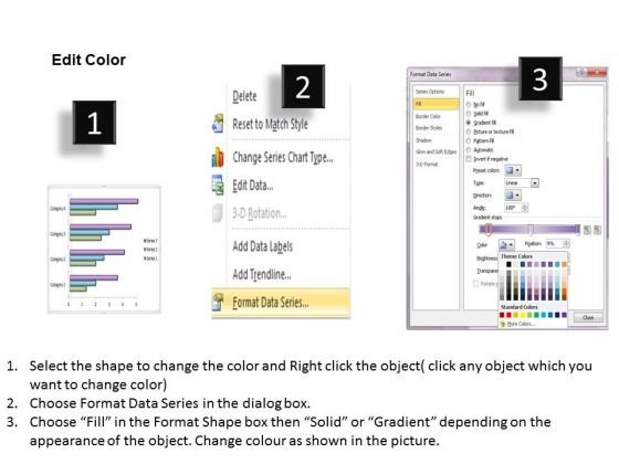Data Analysis In Excel 3d Bar Chart For Business Statistics - data analysis template