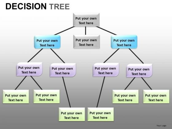 Decision Tree Network Diagram PowerPoint Templates - PowerPoint