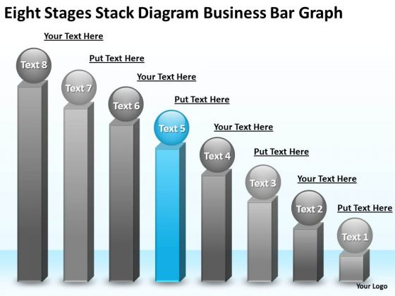 Diagram Free Business PowerPoint Templates Bar Graph Online Plan
