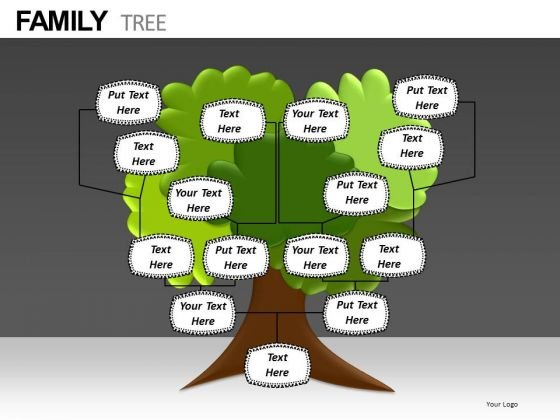 Download Editable Family Tree PowerPoint Templates - PowerPoint