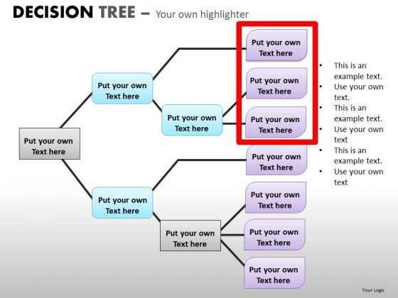 Download Ppt Templates Decision Tree Analysis Diagrams For