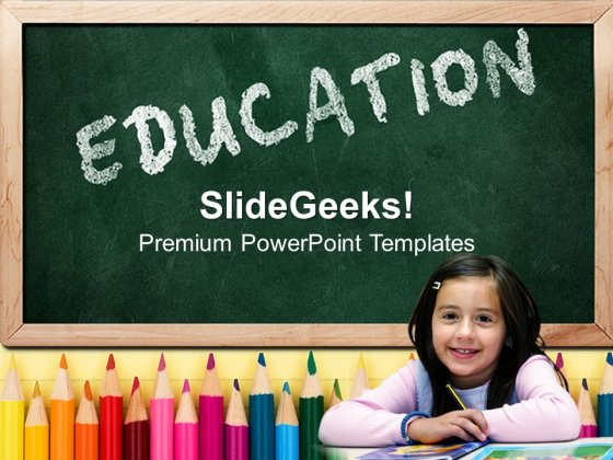 Education Free PowerPoint Template - PowerPoint Templates