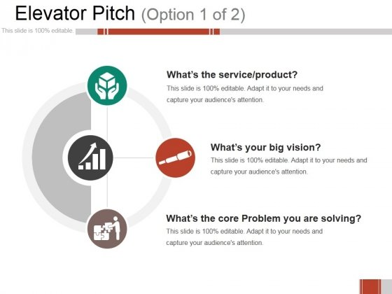 Elevator Pitch Ppt PowerPoint Presentation Infographics Infographic