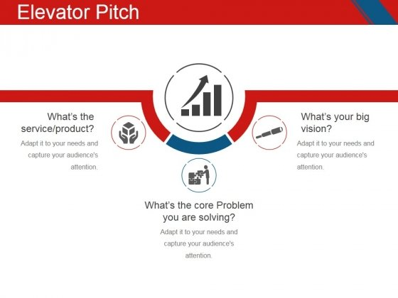 Elevator Pitch Template 1 Ppt PowerPoint Presentation Infographic - smartart powerpoint template