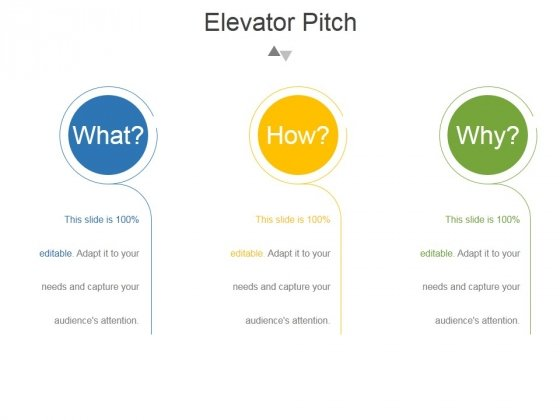 Elevator Pitch Template 2 Ppt PowerPoint Presentation Examples - elevator pitch template