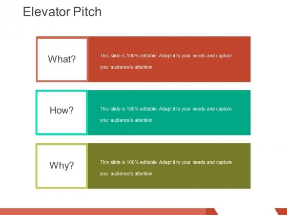 elevator pitch template 2 ppt powerpoint presentation infographics - product pitch template