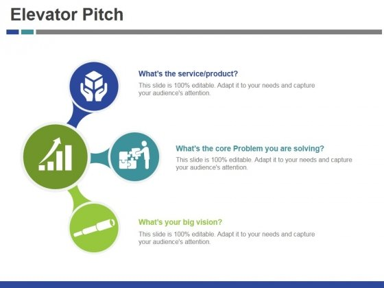 Elevator Pitch Template 2 Ppt PowerPoint Presentation Styles Picture
