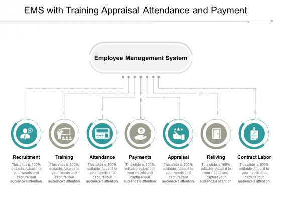 Ems With Training Appraisal Attendance And Payment Ppt PowerPoint