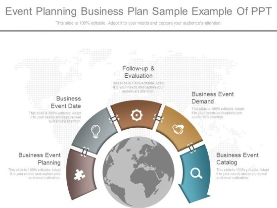 Event Planning Business Plan Sample Example Of Ppt - PowerPoint - business plan example