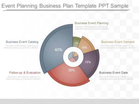 Event Planning Business Plan Template Ppt Sample - PowerPoint Templates