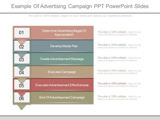 Example Of Advertising Campaign Ppt Powerpoint Slides - PowerPoint - advertising plan