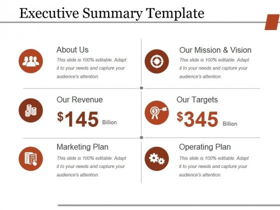 Executive Summary Template Ppt PowerPoint Presentation Slides Themes - it executive summary template